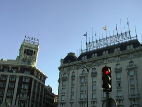our hotel in madrid